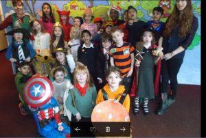 Class 3 celebrate World Book DAy